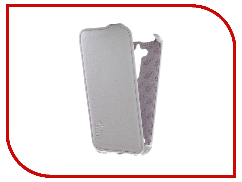купить Аксессуар Чехол ASUS ZenFone Go ZB500KG Aksberry White онлайн