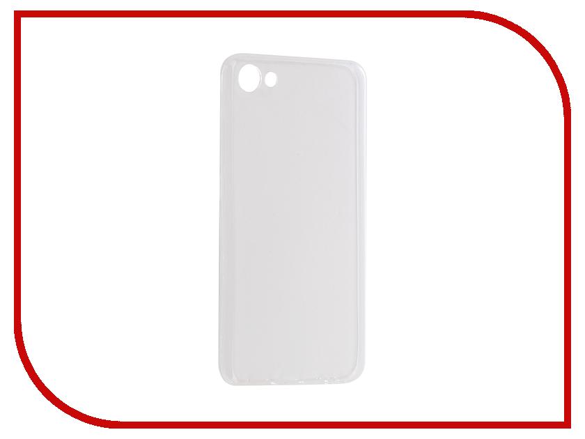 Аксессуар Чехол Meizu U10 Aksberry Silicone 0.33mm Transparent