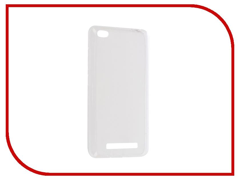 Аксессуар Чехол Xiaomi Redmi 4A Aksberry Silicone 0.33mm Transparent аксессуар чехол xiaomi redmi 1s krutoff silicone transparent black 10289