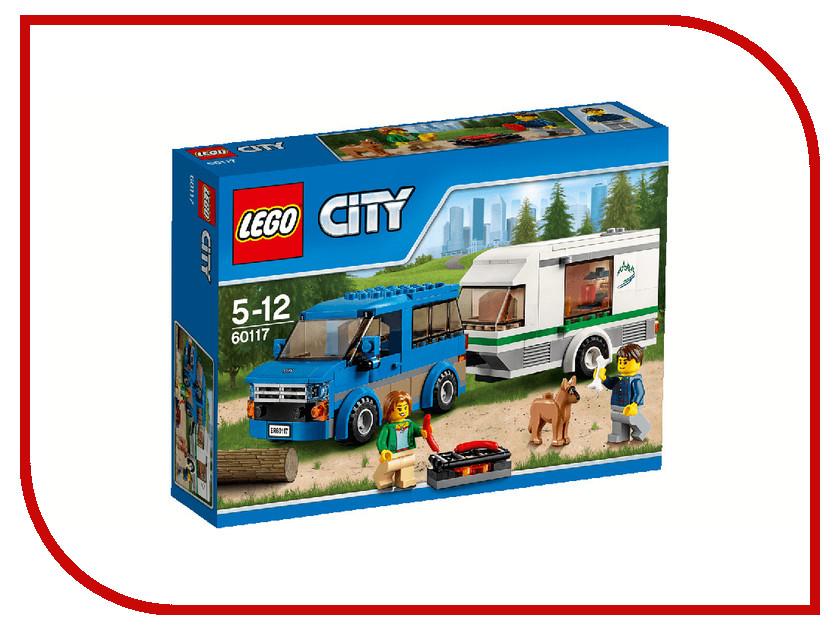 Конструктор Lego City Фургон и дом на колёсах 60117 lego lego city фургон и дом на колёсах