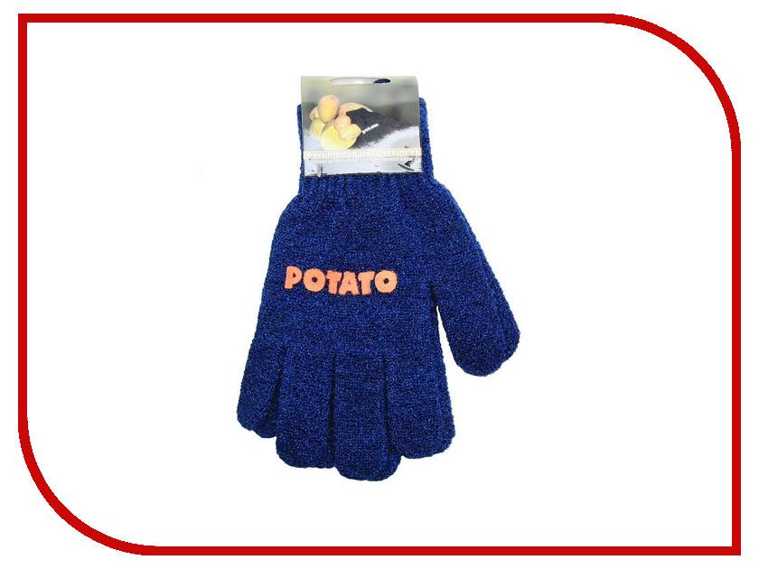 Перчатки для чистки овощей Tammer Tukku Blue 182327 щётка для чистки овощей