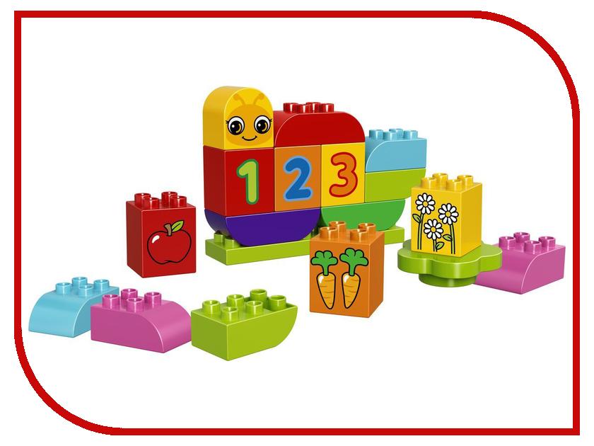 Конструктор Lego Duplo Гусеница 10831 lego lego duplo 10831 моя веселая гусеница