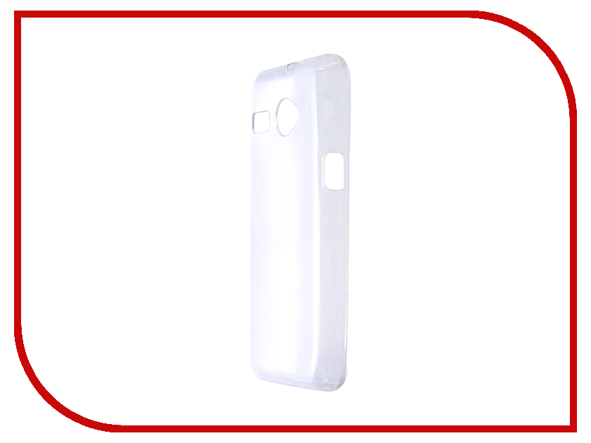 Аксессуар Чехол Micromax Q326 Aksberry Silicone 0.33mm Transparent