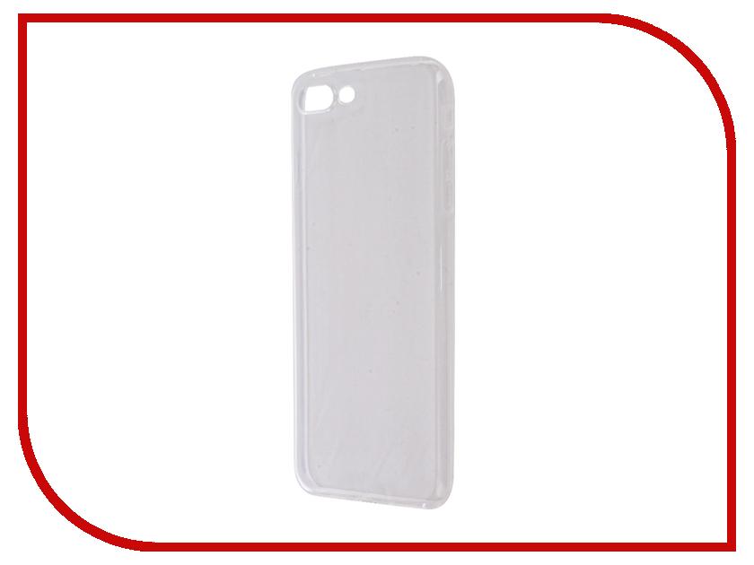 Аксессуар Чехол Aksberry Silicone для APPLE iPhone 7 Plus 0.3mm Transparent аксессуар чехол аккумулятор aksberry 6pc 4000 mah для iphone 6 plus gold