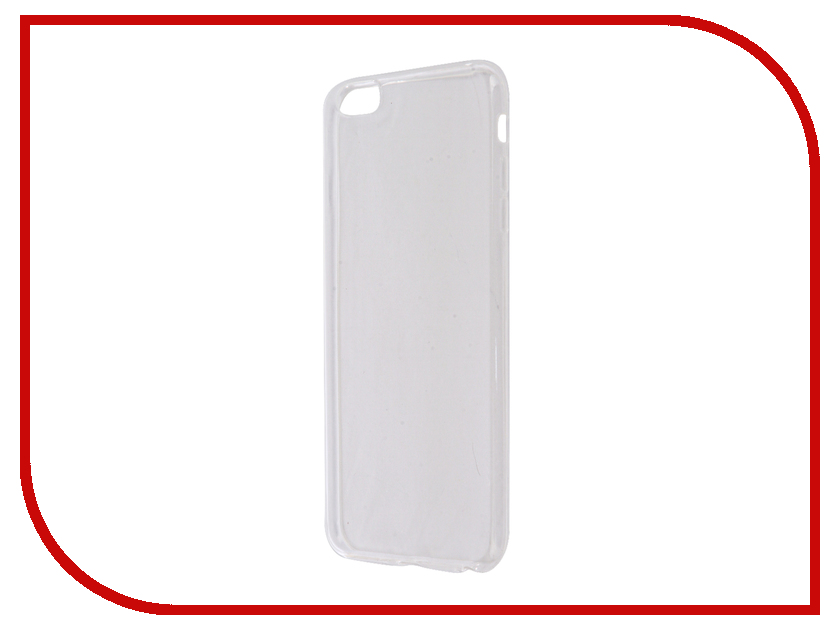 Аксессуар Чехол Aksberry Silicone для APPLE iPhone 6 Plus/6s Plus 0.3mm Transparent  цены