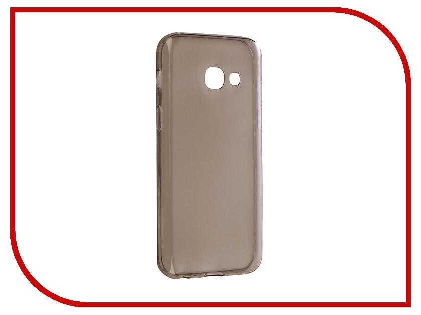 Аксессуар Чехол Samsung Galaxy A3 2017 Zibelino Ultra Thin Case Black ZUTC-SAM-A3-2017-BLK аксессуар чехол samsung galaxy j7 2016 zibelino classico black zcl sam j7 2016 blk