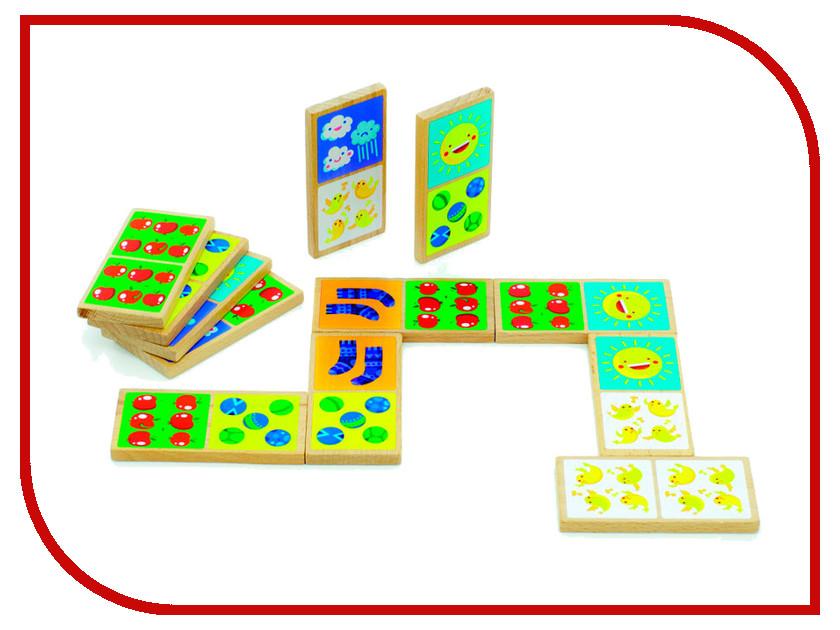 Настольная игра Мир деревянных игрушек Домино Счёт Д395 набор музыкальных инструментов мир деревянных игрушек 3