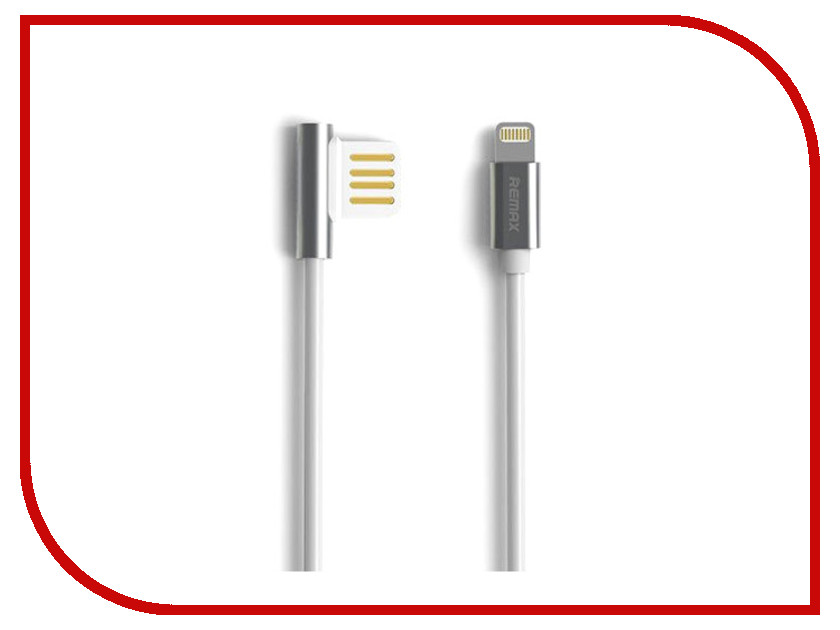 Аксессуар Remax Emperor RC-054i USB - Lightning для iPhone 5/6/7 Silver