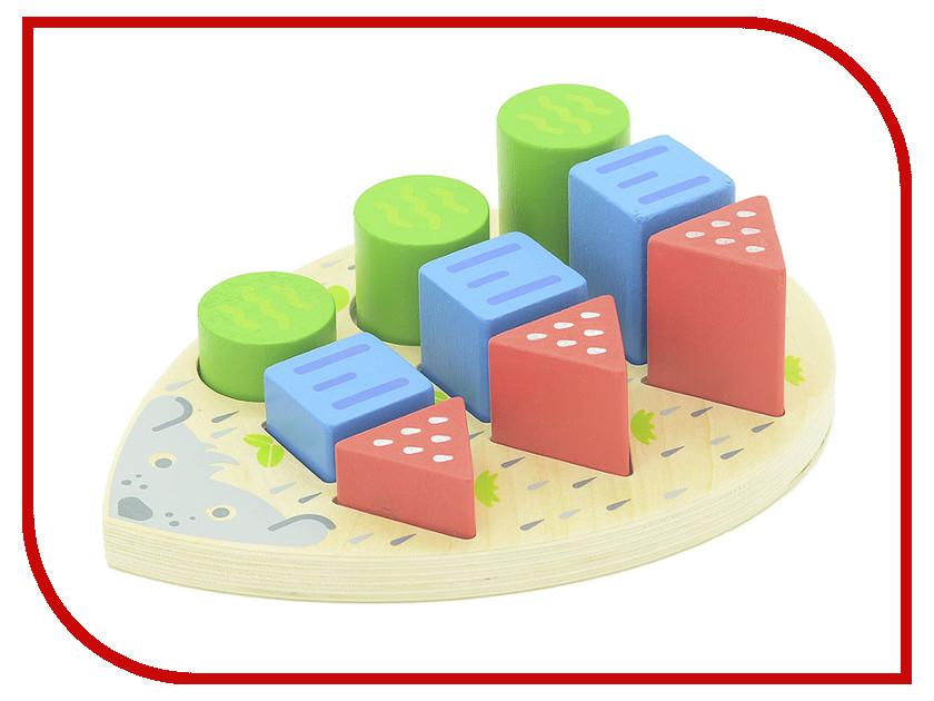 Игрушка Мир деревянных игрушек Ёжик Д413 игрушка мир деревянных игрушек лабиринт слон д345