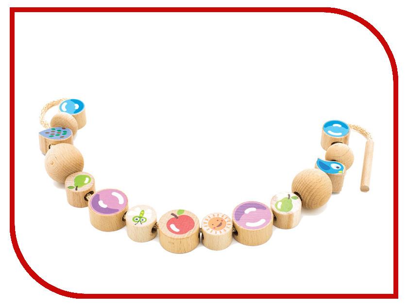 Игрушка Мир деревянных игрушек Бусы Ассорти 16шт Д414