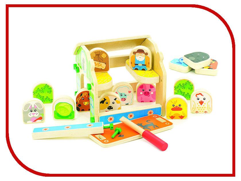 Игрушка Мир деревянных игрушек Ферма Д432 мир деревянных игрушек универсальный куб