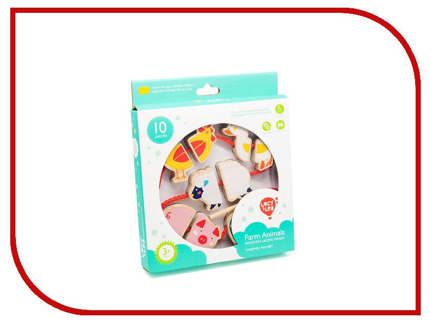 Игрушка Lucy&Leo Бусы Ферма LL136 lucy&leo сортер занимательная коробка