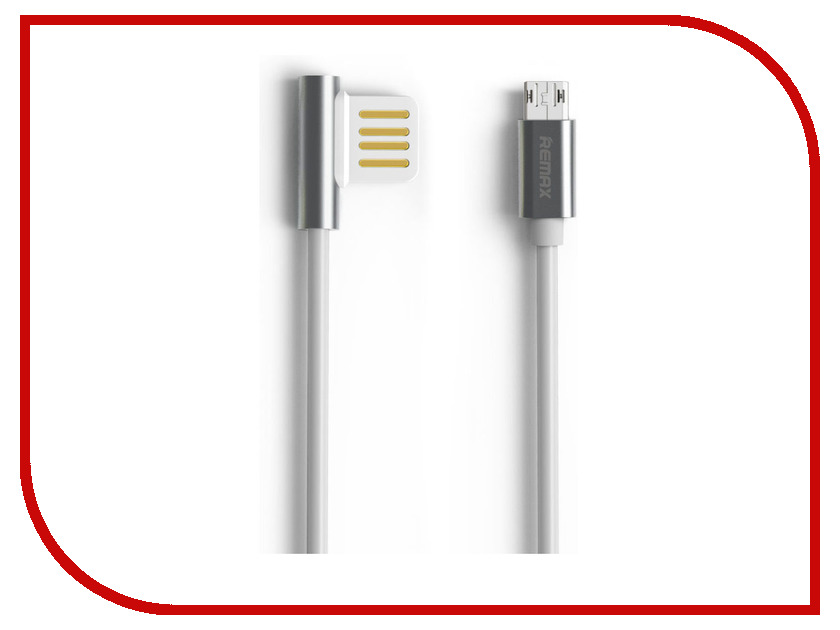 Аксессуар Remax Emperor RC-054m USB - MicroUSB Silver
