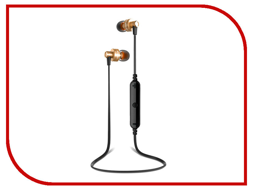 Awei A990BL Gold awei a860bl sport bluetooth earphones with mic gold