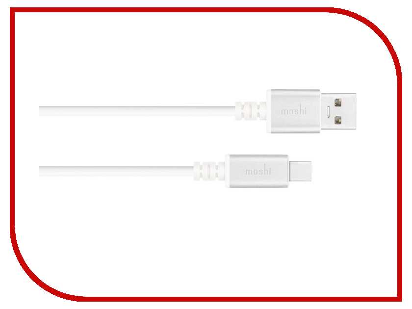 Аксессуар Moshi USB-C - USB Cable 3.3 FT 1m 99MO084101 usb c charge cable