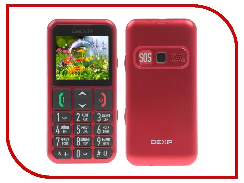 Сотовый телефон DEXP Larus S8 Red