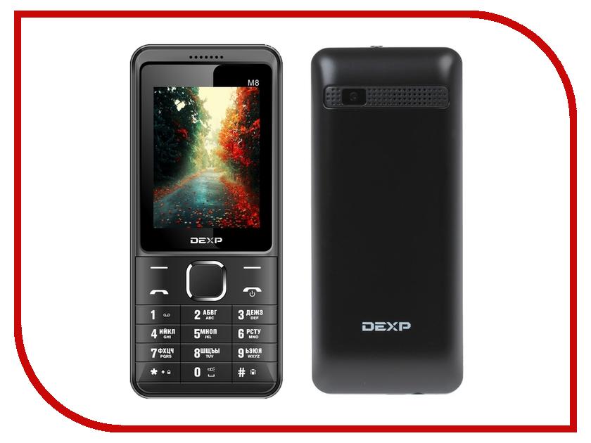 Сотовый телефон DEXP Larus M8 Black