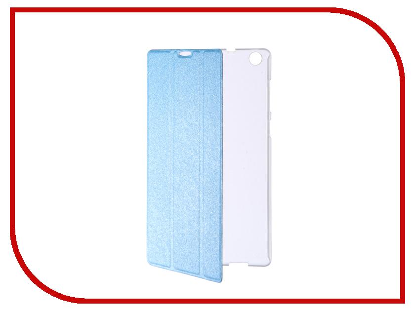 Аксессуар Чехол ASUS ZenPad C 7 Z170CG Cojess Trans Cover Light Blue чехол для asus zenpad z170c asus tricover полиуретан черный