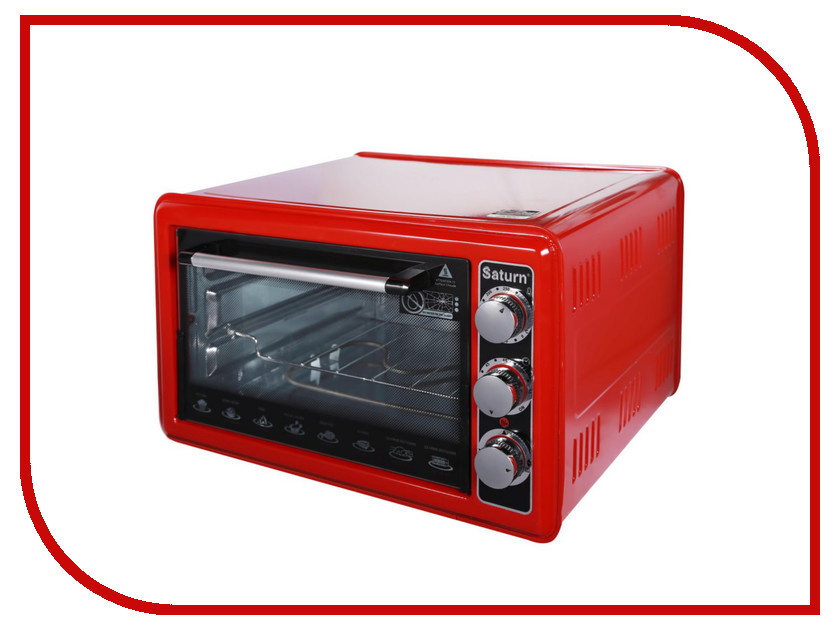 Мини печь Saturn ST-EC1075 Red