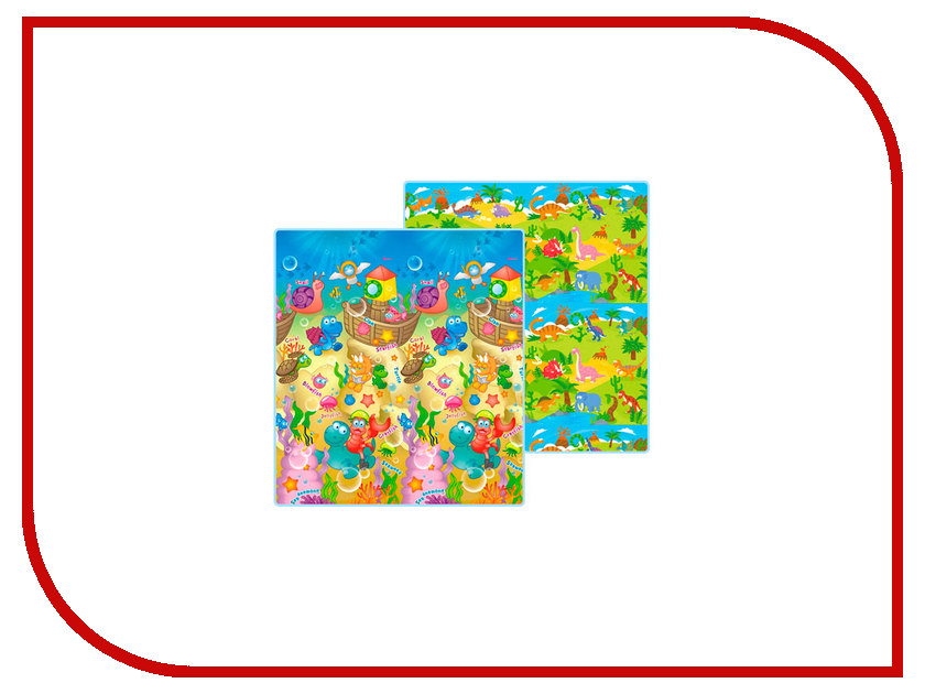 Развивающий коврик Mambobaby Морские жители + Дино 020ТМ