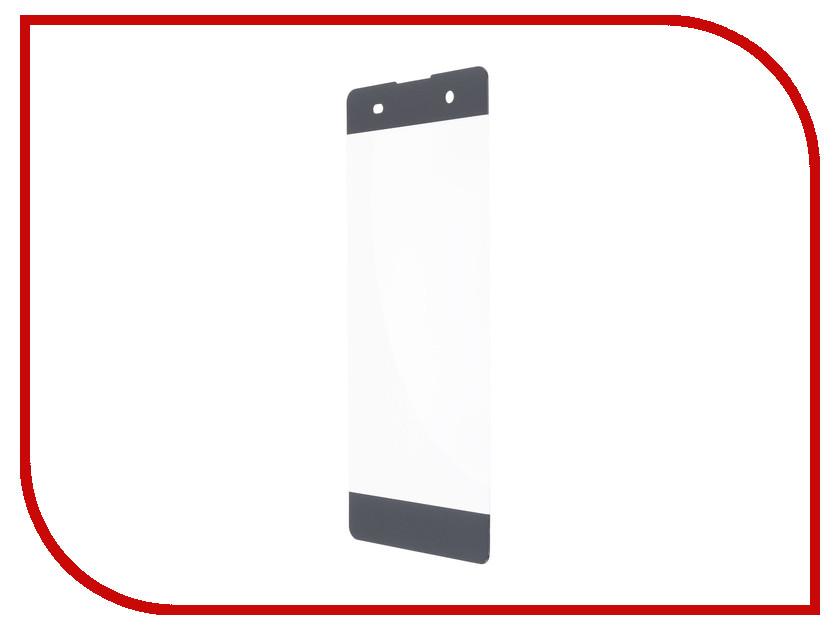 Аксессуар Закаленное стекло Sony Xperia XA1 Ultra DF Full Screen xColor-07 Black аксессуар защитное стекло sony xperia xa1 ultra solomon full cover black