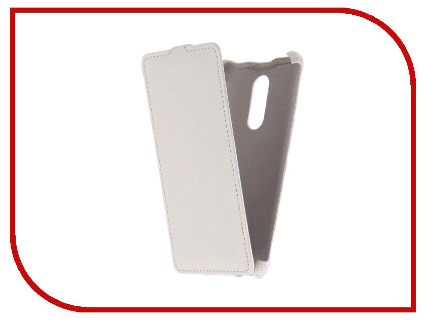 Аксессуар Чехол Xiaomi Redmi Note 4X Zibelino Classico White ZCL-XIA-NOT4X-WHT аксессуар чехол xiaomi redmi note 4 zibelino classico black zcl xia not4 blk