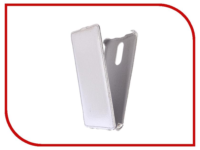 Аксессуар Чехол Xiaomi Redmi Note 4X Zibelino Classico Silver ZCL-XIA-NOT4X-SLV аксессуар чехол xiaomi redmi note 4 zibelino classico black zcl xia not4 blk
