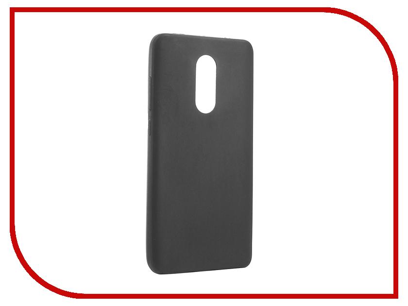 Аксессуар Чехол Xiaomi Redmi Note 4X Zibelino Soft Matte ZSM-XIA-RDM-NOT4X аксессуар чехол xiaomi redmi 4x zibelino classico black zcl xia rdm 4x blk