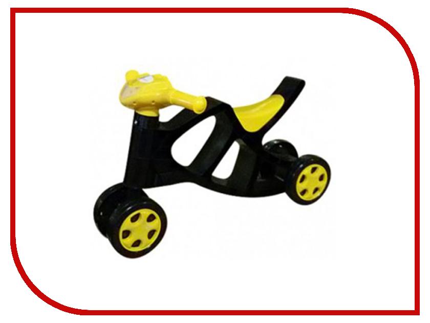 Беговел Doloni Минибайк 0136 Black-Yellow