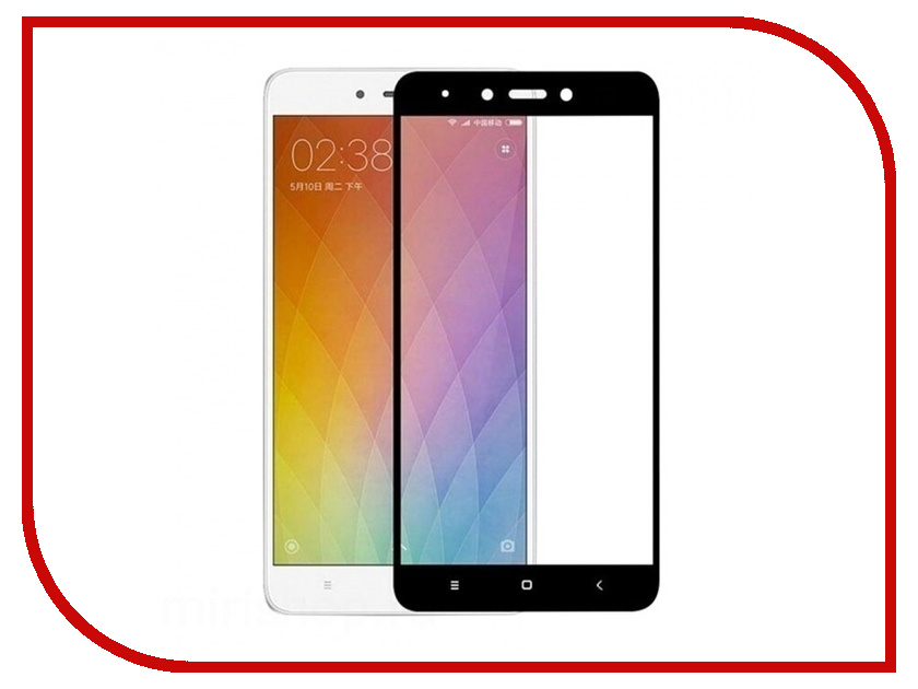 Аксессуар Защитное стекло для Xiaomi Redmi Note 4X Zibelino TG Full Screen Black 0.33mm 2.5D ZTG-FS-XMI-NOT4X-BLK аксессуар защитное стекло для xiaomi mi8 zibelino tg full screen black ztg fs xmi mi8 blk