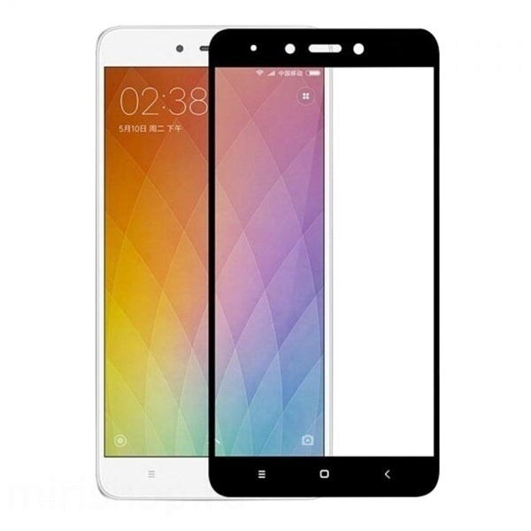 Защитное стекло Zibelino для Xiaomi Redmi Note 4X Tempered Glass Full Screen Black 0.33mm 2.5D ZTG-FS-XMI-NOT4X-BLK аксессуар защитное стекло для xiaomi mi5x mi a1 zibelino tg full screen 0 33mm 2 5d gold ztg fs xmi mi5x gld