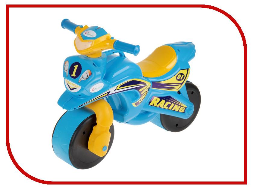Беговел Doloni Мотобайк 138/10 Yellow-Blue