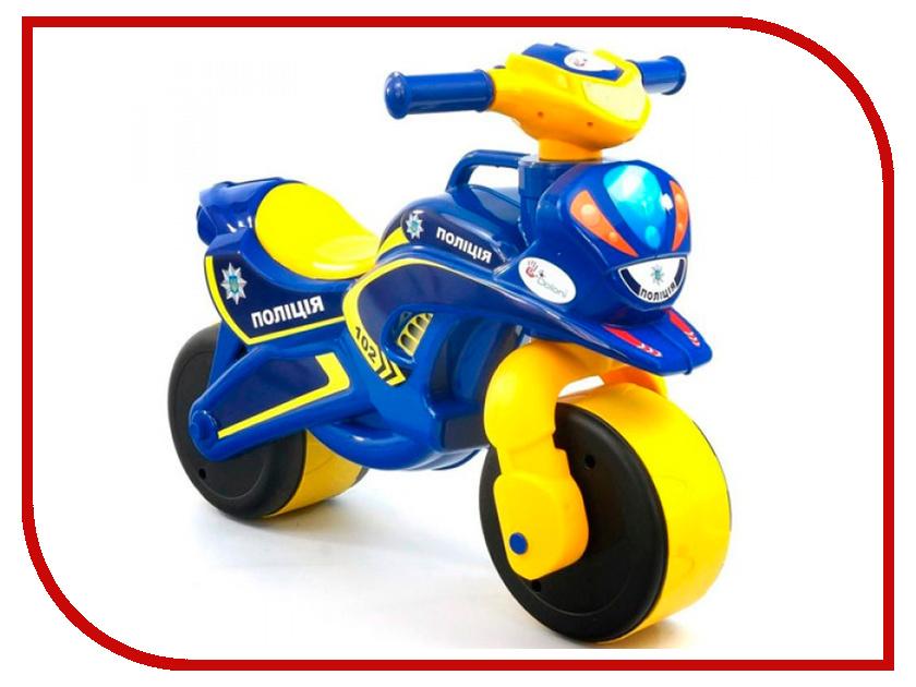 Беговел Doloni Мотобайк 139/57 Yellow-Blue
