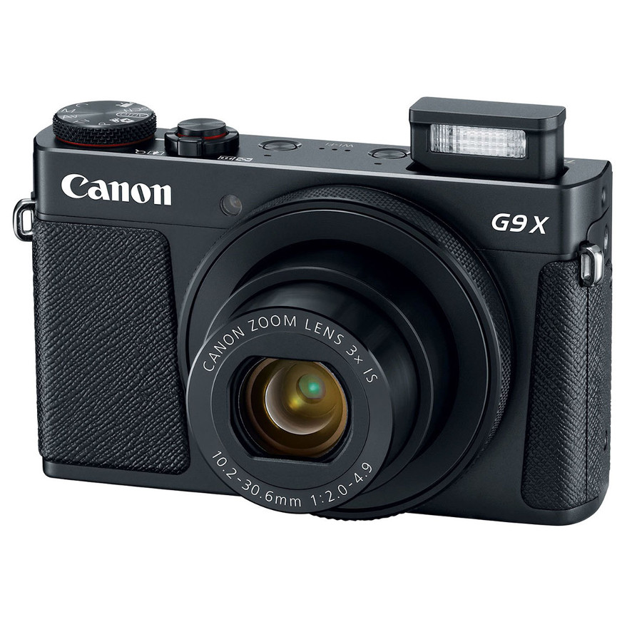 Фото - Фотоаппарат Canon PowerShot G9 X Mark II Black фотоаппарат canon powershot sx740 hs black