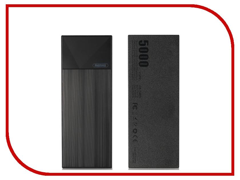 Аккумулятор Remax Thoway RPP-54 Power Bank 5000mAh Black power bank 6000 mah remax rpp 16 розовый remax