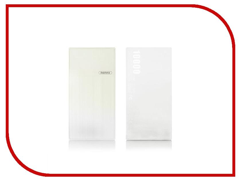 Аккумулятор Remax Thoway RPP-55 Power Bank 10000mAh White аккумулятор rock odin power bank 10000mah rmp0362 black