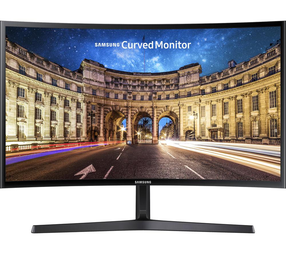 Монитор Samsung C27F396FHI Black Выгодный набор + серт. 200Р!!!