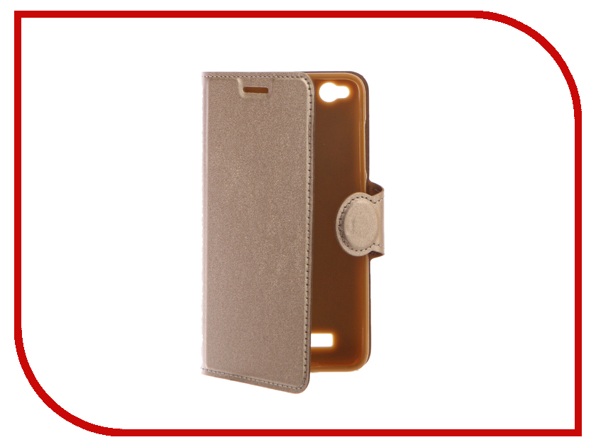 Аксессуар Чехол Xiaomi Redmi 4A Red Line Book Type Gold УТ000010589