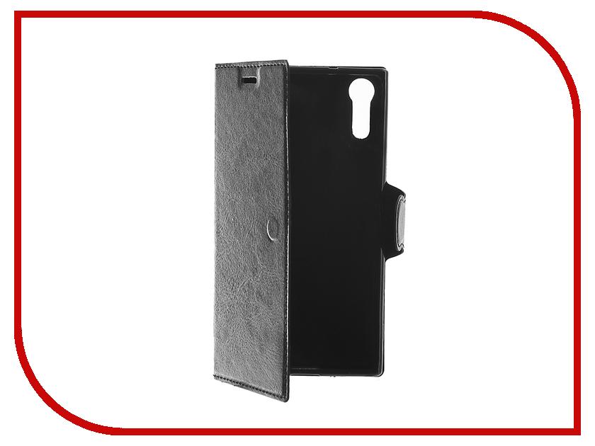 Аксессуар Чехол Sony Xperia XZs Red Line Book Type Black