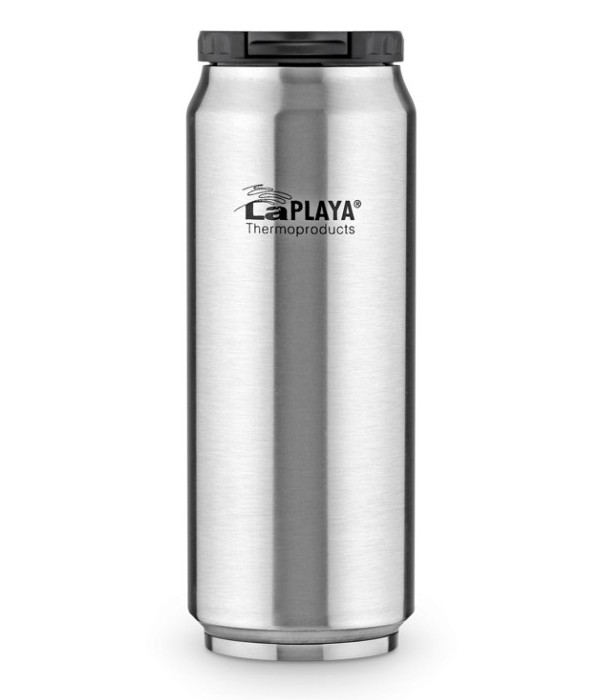 Термокружка La Playa Warm-Cool Can 500ml Silver 560102