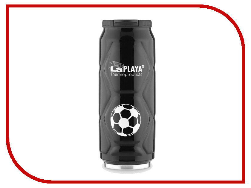 Термокружка La Playa Football Can 500ml Black 560105