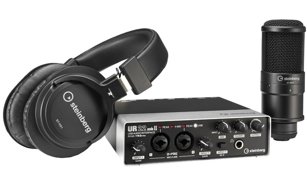 Комплект для звукозаписи Steinberg UR22 MK II Recording Pack