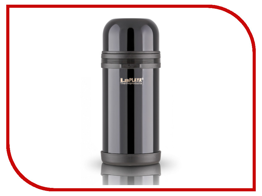 Термос La Playa Traditional 1.2L Black 560047 warmapp la playa