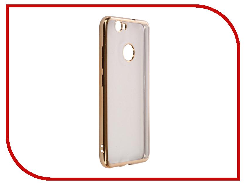 Аксессуар Чехол Huawei Nova Muvit Bling Gold MLBKC0185