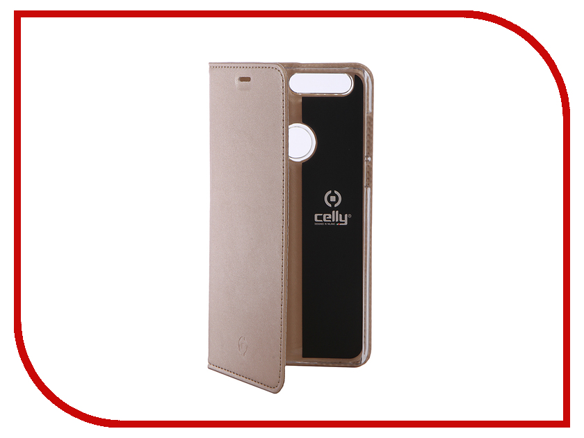 Аксессуар Чехол Huawei Honor 8 Celly Air Gold AIR610GDCP аксессуар чехол samsung galaxy j5 prime g570 celly air case black air640bk