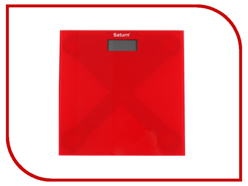 Весы Saturn ST-PS0294 Red