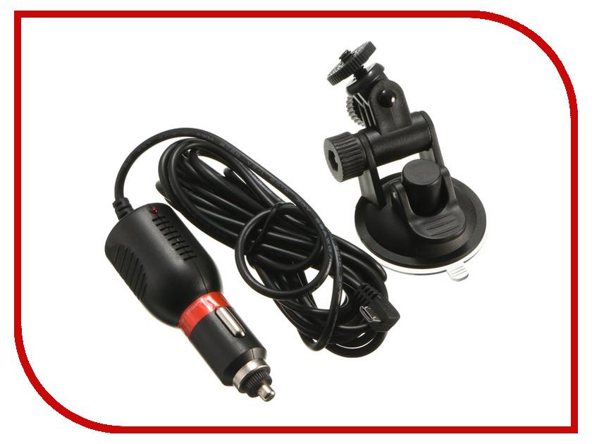 Аксессуар EKEN CH_1 набор в авто - крепление присоска на стекло и зарядное устройство