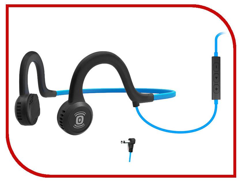 Гарнитура AfterShokz Sportz Titanium with mic AS451OB Blue aftershokz bluez 2s neon as500