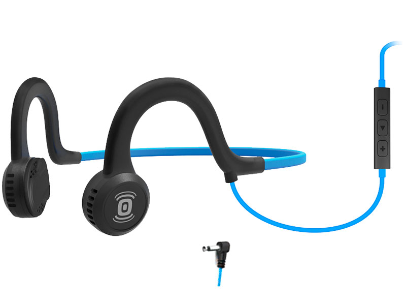 AfterShokz Sportz Titanium with mic AS451OB Blue