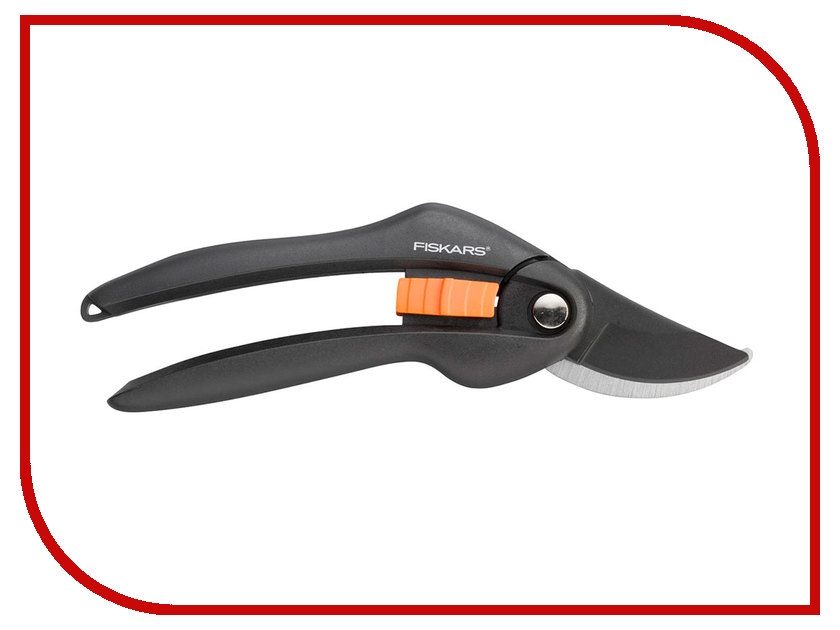Секатор Fiskars SingleStep P26 Black-Orange 111260 контактный секатор singlestep p25 fiskars 111250